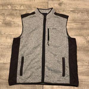 Orvis Gray Sweater Fleece Men's Vest XXL